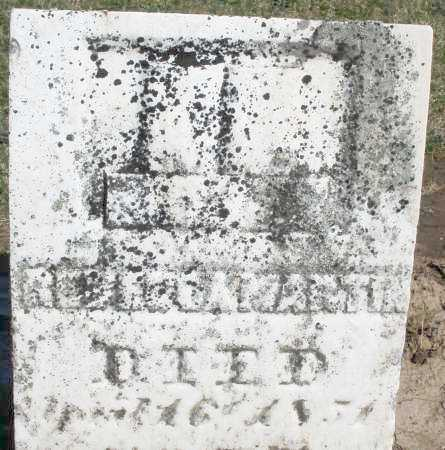 MARTIN, REBECCA - Preble County, Ohio | REBECCA MARTIN - Ohio Gravestone Photos