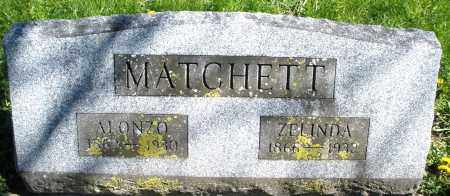 MATCHETT, ZELINDA - Preble County, Ohio | ZELINDA MATCHETT - Ohio Gravestone Photos