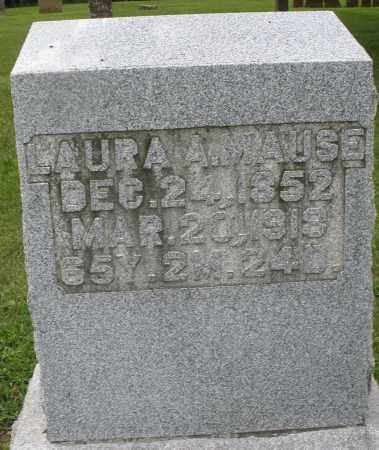 MAUSE, LAURA A. - Preble County, Ohio | LAURA A. MAUSE - Ohio Gravestone Photos