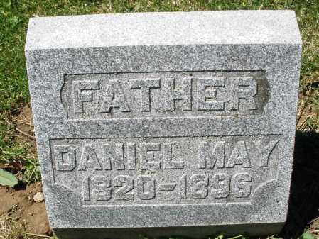 MAY, DANIEL - Preble County, Ohio | DANIEL MAY - Ohio Gravestone Photos