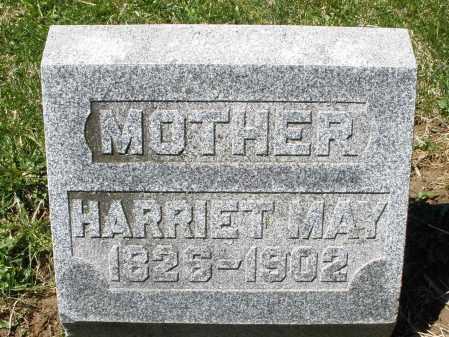 MAY, HARRIET - Preble County, Ohio | HARRIET MAY - Ohio Gravestone Photos