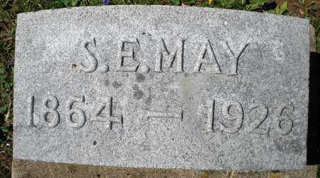 MAY, S.E. - Preble County, Ohio | S.E. MAY - Ohio Gravestone Photos