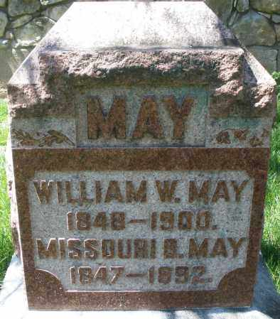 MAY, WILLIAM W. - Preble County, Ohio | WILLIAM W. MAY - Ohio Gravestone Photos