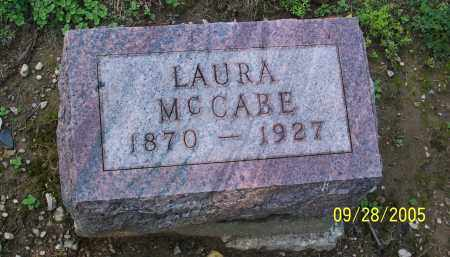 MCCABE, LAURA - Preble County, Ohio | LAURA MCCABE - Ohio Gravestone Photos