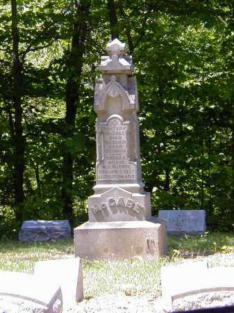 MCCABE, SARAH A. - Preble County, Ohio | SARAH A. MCCABE - Ohio Gravestone Photos