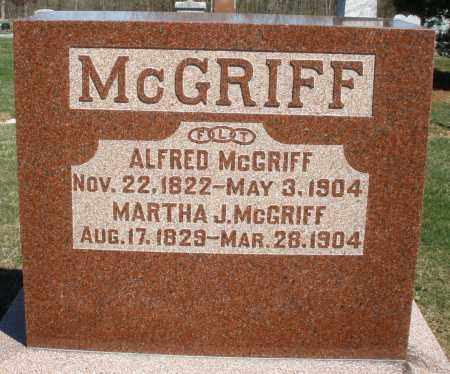 MCGRIFF, ALFRED - Preble County, Ohio | ALFRED MCGRIFF - Ohio Gravestone Photos
