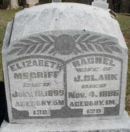 MCGRIFF, RACHEL - Preble County, Ohio | RACHEL MCGRIFF - Ohio Gravestone Photos