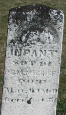 MCGRIFF, INFANT SON - Preble County, Ohio | INFANT SON MCGRIFF - Ohio Gravestone Photos