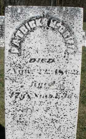 MCGRIFF, PATRICK - Preble County, Ohio | PATRICK MCGRIFF - Ohio Gravestone Photos