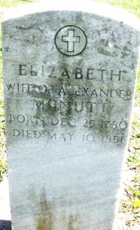 MCNUTT, ELIZABETH - Preble County, Ohio | ELIZABETH MCNUTT - Ohio Gravestone Photos