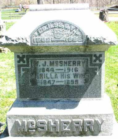 MCSHERRY, MARILLA - Preble County, Ohio | MARILLA MCSHERRY - Ohio Gravestone Photos