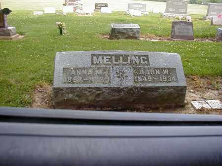 MELLING, ANNA M. - Preble County, Ohio | ANNA M. MELLING - Ohio Gravestone Photos