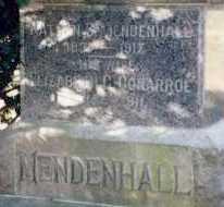 MENDENHALL, NATHAN S. - Preble County, Ohio | NATHAN S. MENDENHALL - Ohio Gravestone Photos