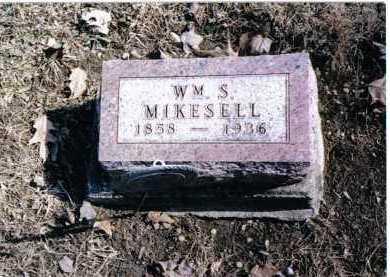 MIKESELL, WM. S. - Preble County, Ohio | WM. S. MIKESELL - Ohio Gravestone Photos