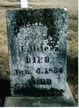 MILES, ELIZABETH - Preble County, Ohio | ELIZABETH MILES - Ohio Gravestone Photos