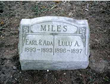 MILES, EARL - Preble County, Ohio | EARL MILES - Ohio Gravestone Photos