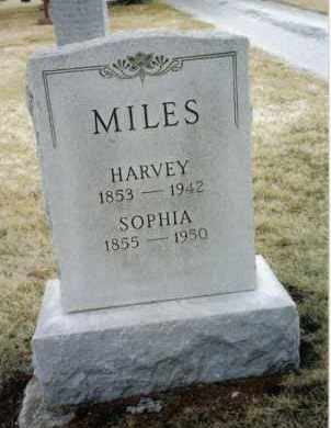 MILES, HARVEY - Preble County, Ohio | HARVEY MILES - Ohio Gravestone Photos
