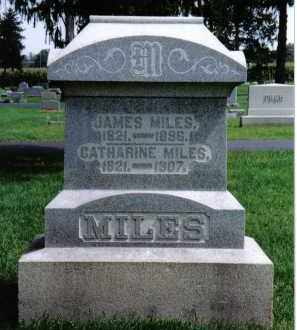 MILES, CATHARINE - Preble County, Ohio | CATHARINE MILES - Ohio Gravestone Photos
