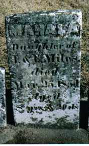 MILES, MAHALA - Preble County, Ohio | MAHALA MILES - Ohio Gravestone Photos