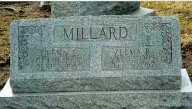 MILLARD, ZELMA R. - Preble County, Ohio | ZELMA R. MILLARD - Ohio Gravestone Photos