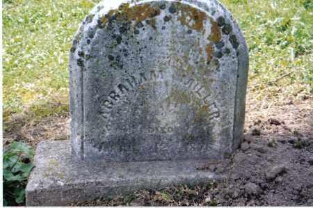 MILLER, ABRAHAM - Preble County, Ohio | ABRAHAM MILLER - Ohio Gravestone Photos