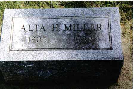 MILLER, ALTA H. - Preble County, Ohio | ALTA H. MILLER - Ohio Gravestone Photos