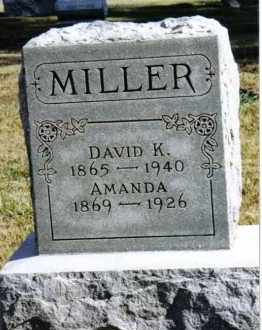 MILLER, AMANDA - Preble County, Ohio | AMANDA MILLER - Ohio Gravestone Photos