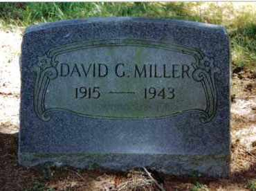 MILLER, DAVID G. - Preble County, Ohio | DAVID G. MILLER - Ohio Gravestone Photos