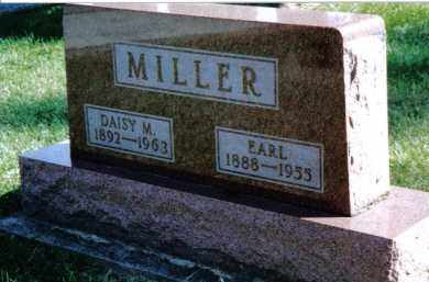 MILLER, EARL - Preble County, Ohio | EARL MILLER - Ohio Gravestone Photos