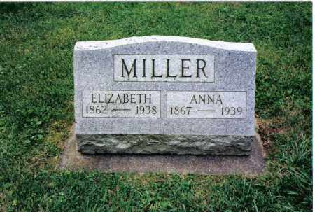 MILLER, ANNA - Preble County, Ohio | ANNA MILLER - Ohio Gravestone Photos