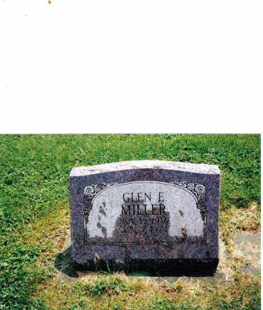 MILLER, GLEN E. - Preble County, Ohio | GLEN E. MILLER - Ohio Gravestone Photos