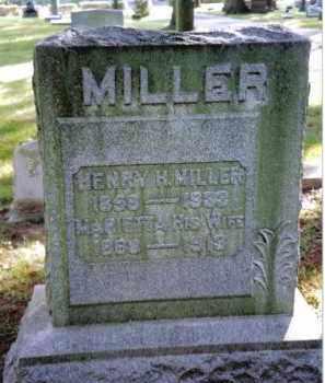 MILLER, MARIETTA - Preble County, Ohio | MARIETTA MILLER - Ohio Gravestone Photos