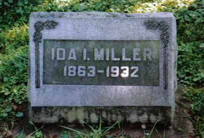 MILLER, IDA I. - Preble County, Ohio | IDA I. MILLER - Ohio Gravestone Photos