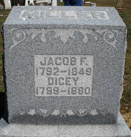 MILLER, JACOB F. - Preble County, Ohio | JACOB F. MILLER - Ohio Gravestone Photos