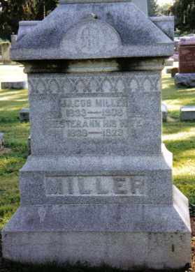 MILLER, JACOB - Preble County, Ohio | JACOB MILLER - Ohio Gravestone Photos