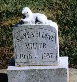 MILLER, KAYE VELDINE - Preble County, Ohio | KAYE VELDINE MILLER - Ohio Gravestone Photos
