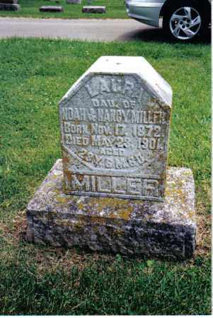 MILLER, LAURA - Preble County, Ohio | LAURA MILLER - Ohio Gravestone Photos