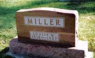 MILLER, LOUISE M. - Preble County, Ohio | LOUISE M. MILLER - Ohio Gravestone Photos