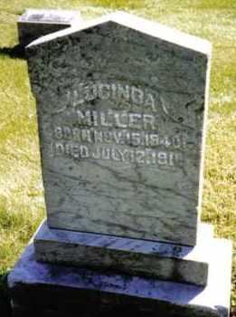 MILLER, LUCINDA - Preble County, Ohio | LUCINDA MILLER - Ohio Gravestone Photos