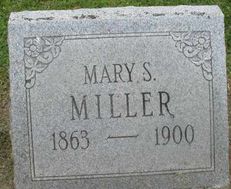 MILLER, MARY S. - Preble County, Ohio | MARY S. MILLER - Ohio Gravestone Photos