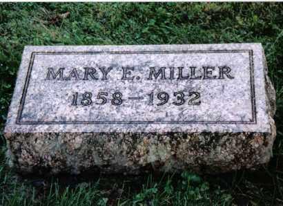 MILLER, MARY E. - Preble County, Ohio | MARY E. MILLER - Ohio Gravestone Photos