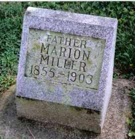 MILLER, MARION - Preble County, Ohio | MARION MILLER - Ohio Gravestone Photos