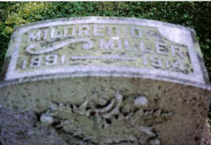 MILLER, MILDRED O - Preble County, Ohio | MILDRED O MILLER - Ohio Gravestone Photos