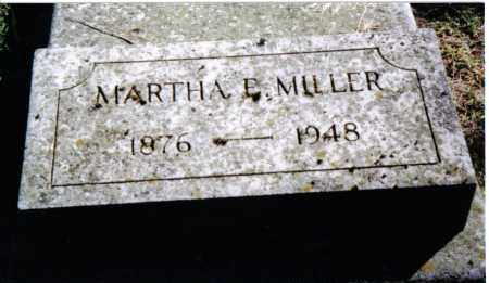 MILLER, MARTHA E. - Preble County, Ohio | MARTHA E. MILLER - Ohio Gravestone Photos