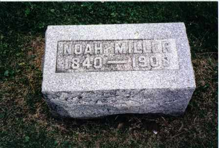 MILLER, NOAH - Preble County, Ohio | NOAH MILLER - Ohio Gravestone Photos