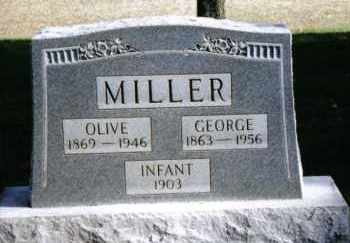 MILLER, OLIVE - Preble County, Ohio | OLIVE MILLER - Ohio Gravestone Photos