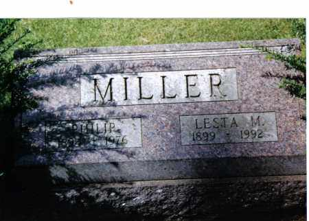 MILLER, PHILIP - Preble County, Ohio | PHILIP MILLER - Ohio Gravestone Photos