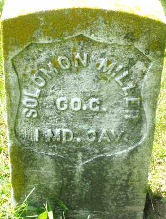 MILLER, SOLOMON - Preble County, Ohio | SOLOMON MILLER - Ohio Gravestone Photos