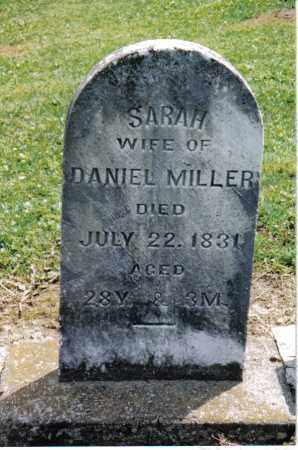 MILLER, SARAH - Preble County, Ohio | SARAH MILLER - Ohio Gravestone Photos