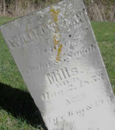 MILLS, WILLIAM HENRY - Preble County, Ohio | WILLIAM HENRY MILLS - Ohio Gravestone Photos